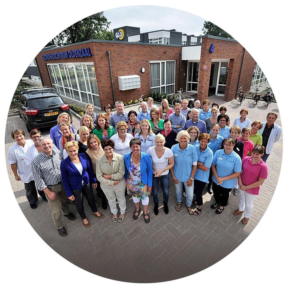 Het Gezondheidscentrum Oldenzaal team